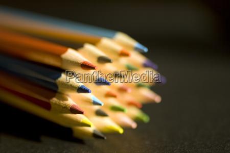 kunst bleistifte kuenstlerisch artistisch farbenfreudig farbreich