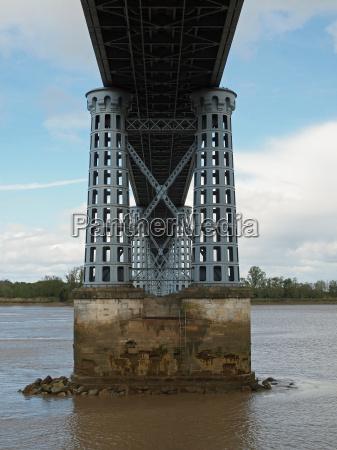 eiffel bridge over the dordogne river