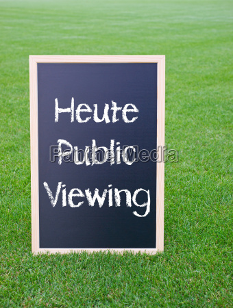 heute public viewing