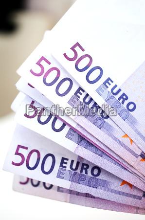 500 euro geld banknoten