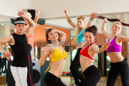 zumba or jazz dance young