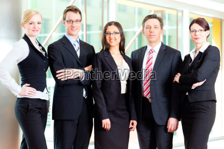 business a group of business