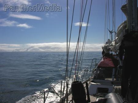 segeln in der antarktis