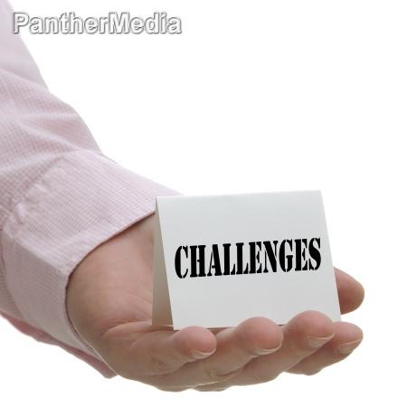 herausforderungen zeichenserie