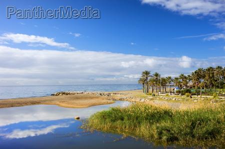 costa del sol in spanien