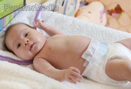 adorable baby portrait