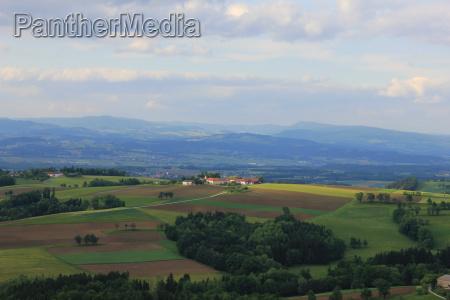 view north from buchberg in neuhofen