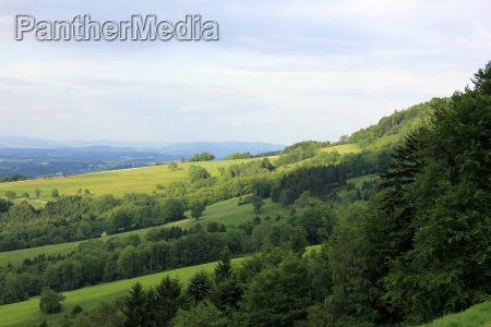 looking north from buchenberg in neuhofen