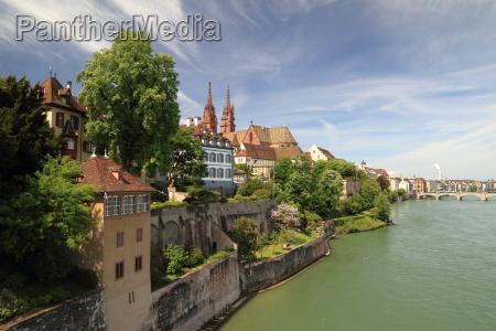 view from wettsteinbruecke