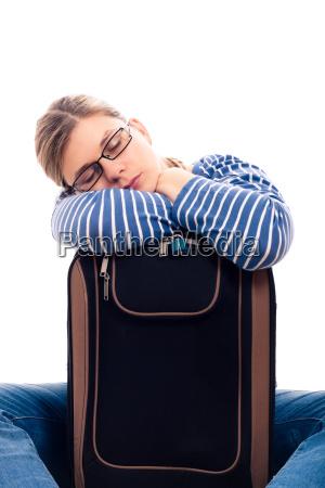frau schlaf schlafen schlaeft schlafend schlafende