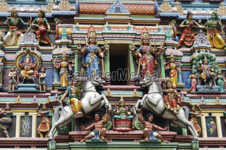 hindu temples figures
