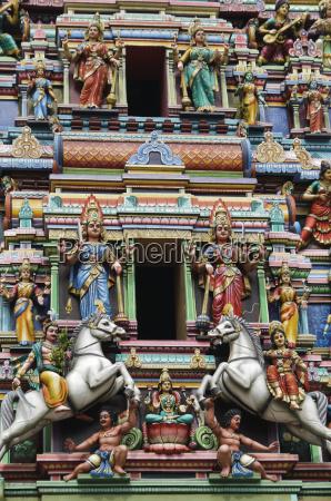 hindu temple figures