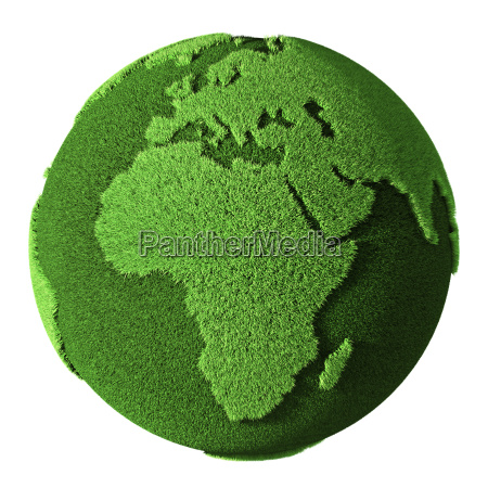 grass globe afrika