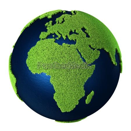 gras erde afrika