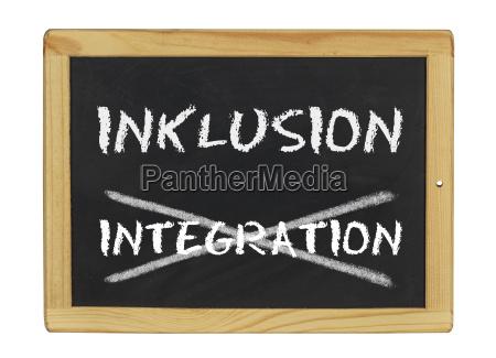 inklusion statt integration