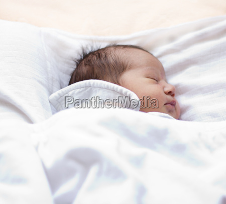 schlafenden neugeborenen
