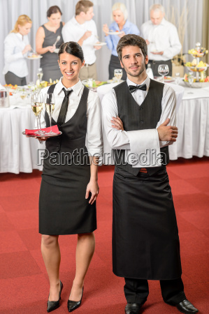catering service kellner kellnerin business event