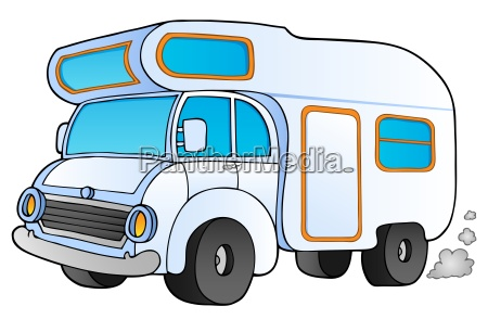 furgone dei cartoni animati