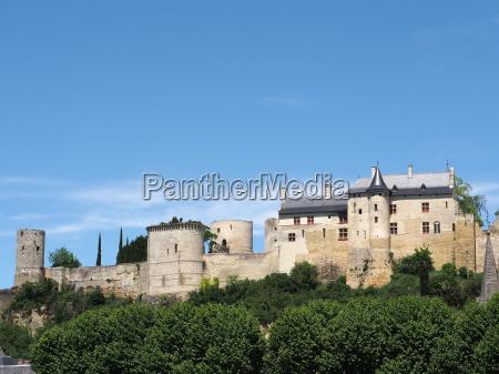 royal chinon fortress france