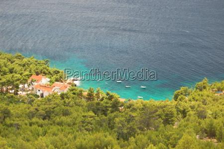 romantisch sommer sommerlich kroatien landschaftsbild landschaft
