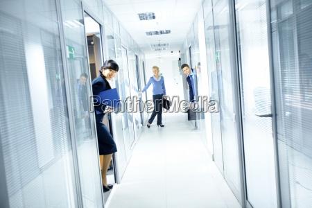 buero korridor