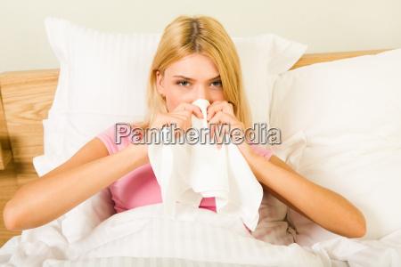 bei krankheit