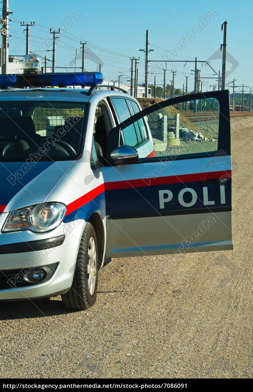 polizeiwagen, exekutive, einsatz - 7086091