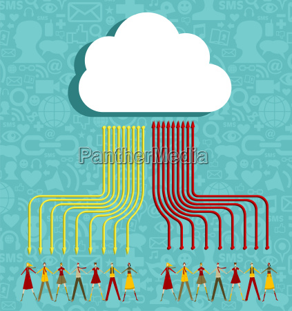 cloud computing people concept