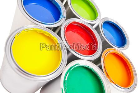 farbeimer isoliert