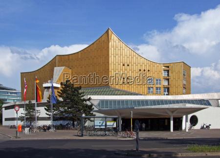 berliner, philharmonie, deutschland - 7123069
