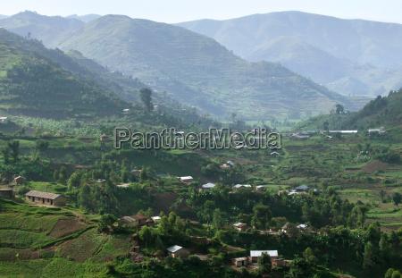 virunga mountains in africa