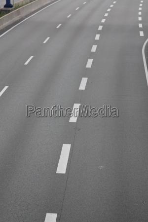 a motorway exit