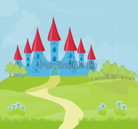 magic fairytale princess schloss