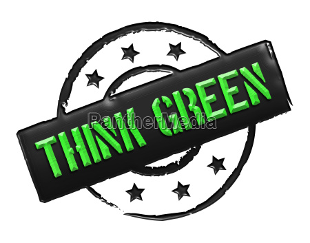 stamp think green