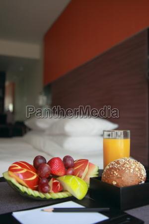 raum korb frucht obst hotel schlafzimmer