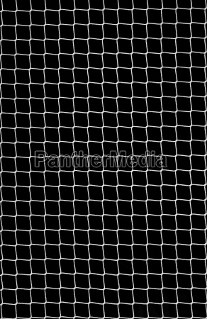 soccer net on black