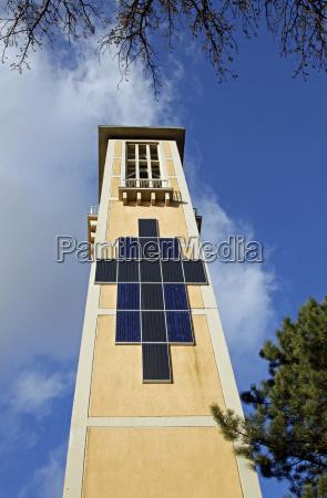 kirchturm von st augustinus in hameln