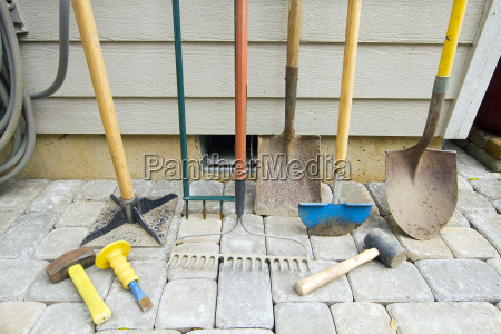 gardening and landscaping tools
