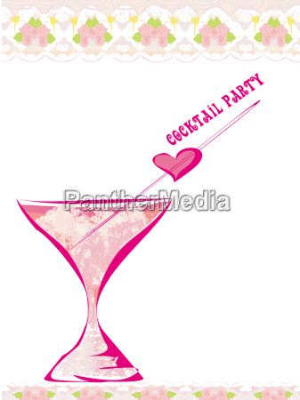invitation to birthday cocktail party