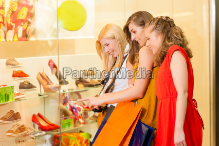 buy girlfriends when shoes and shopping