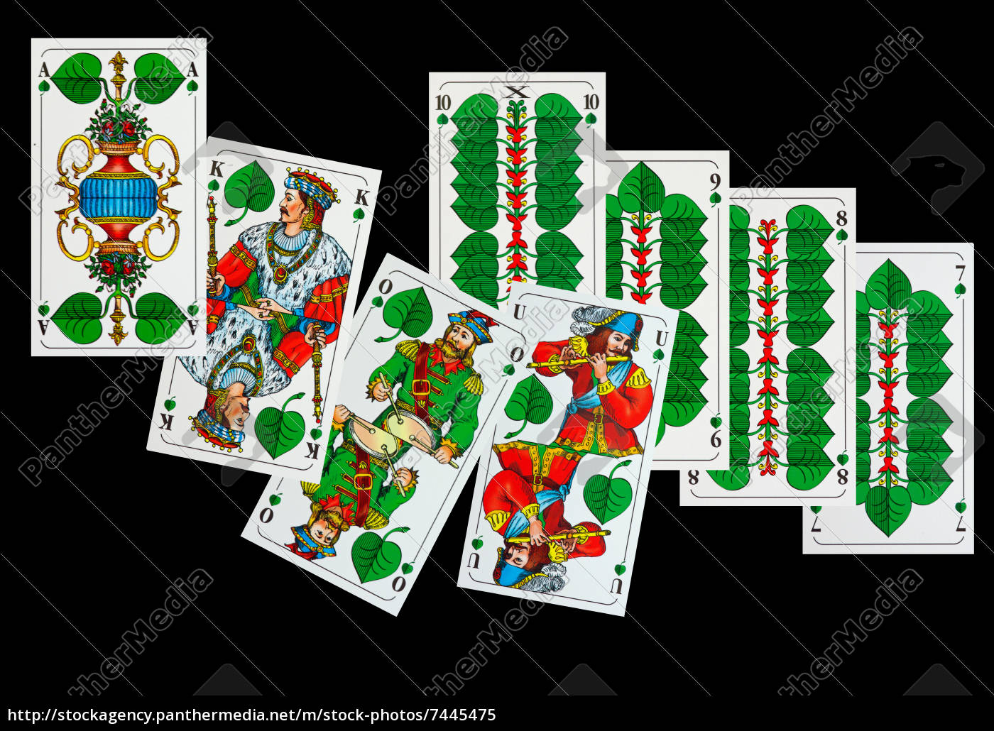 Schafkopfkarten Bilder