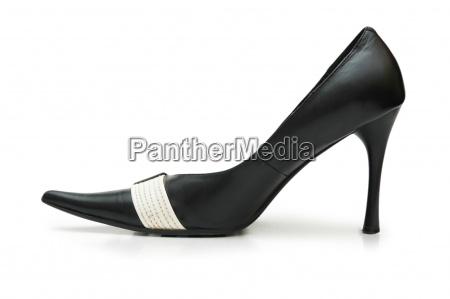female shoe on high heel isolated