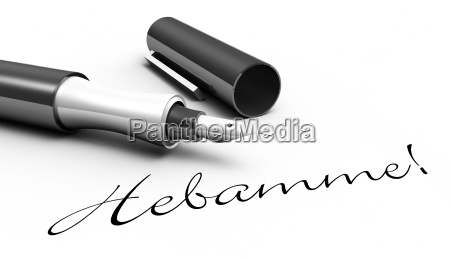 midwife pen concept