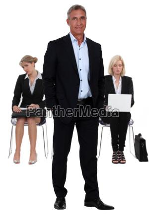 wartebereich der business