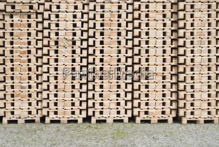 transportation pallets