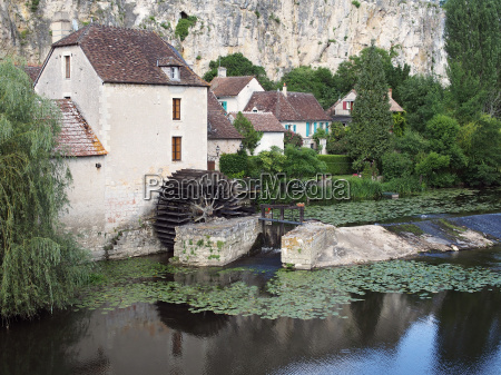 watermill angles sur anglin france