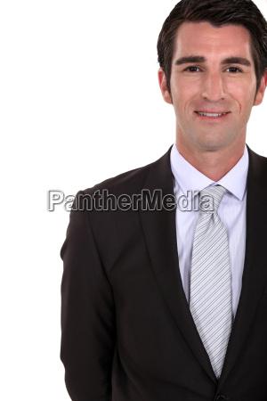 a businessmans portrait