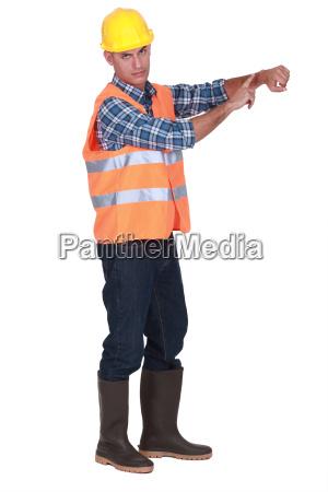 foreman keeping time
