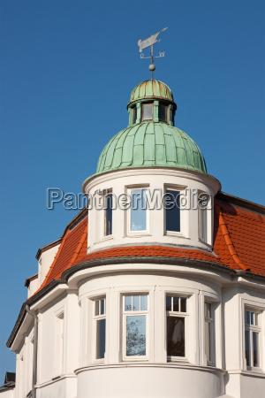 resort architecture in the baltic sea
