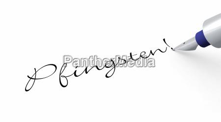pen concept pentecost